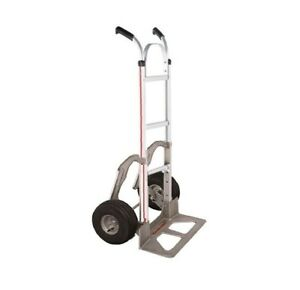 Assembled Magliner Hand Truck 18 Nose 10 Air Tire With Stair Glides 60 Tall