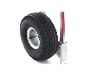 Pneumatic Wheel With Offset Hub And Sealed 5 8 Id Bearing magliner