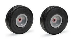 pack Of 2 Magliner Offset Hub Hand Truck Tire Carefree Flat Free Foam Filled