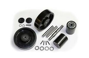 Ultra Ul5500 Pallet Jack Wheel Kit complete includes All Parts Shown