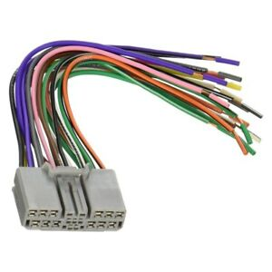 In Dash Stock Plug Replacement Adapter Wire Harenss For Factory Radio Install