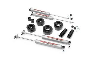 Rough Country 1 5 Suspension Lift Kit Jeep Zj Grand Cherokee 93 98 4 0l 5 2l