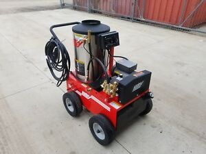 Used Electric Hot Water Pressure Washer Hotsy 795ss 230v