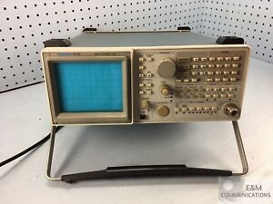 2712 Tektronix Spectrum Analyzer 9khz To 1 8ghz For Repair Or Parts