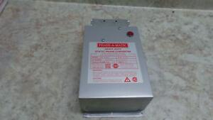 Phase a matic Pam 300hd 1 3 Output Hp 208 242v Static Phase Converter