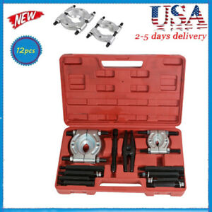 12pcs Safty Bearing Splitter Gear Puller Fly Wheel Separator Set Tool Kit 2