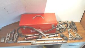 Vintage Snap on Model Bj 4 4 Ton Porta Power With Accessories And Milwaukee Box