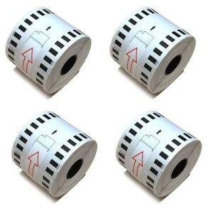 100 Rolls Of Dk 2205 Brother compatible continuous Labels bpa Free