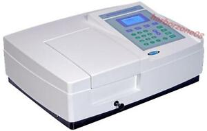 Uv Visible Spectrophotometer Range 190 1100nm Bandwidth 2nm Uv Vis Spectrometer