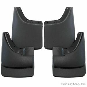 2002 2008 Dodge Ram Mud Flaps Mud Guards Splash No Flares Front Rear Molded 4pc