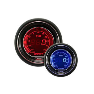 Prosport Gauges Evo Series 52mm Electric Dual Color Boost Gauge Mounting Kit