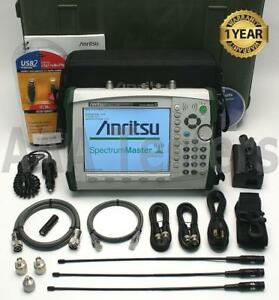 Anritsu Ms2721b Handheld Spectrum Master Analyzer W Tracking Generator Ms2721