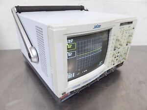 S143794 Lecroy Lc334am 4 channel 500mhz Digital Oscilloscope 2gs s 500 Ms s