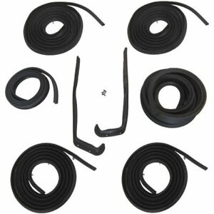 1955 1956 Oldsmobile 98 4dr Sedan Body Weatherstrip Seal Kit