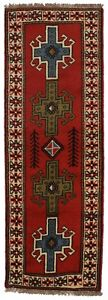 Decorative Unique Narrow Runner Ghoochan Persian Rug Oriental Area Carpet 2x7