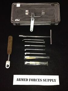 Depuy Synthes Nail Removal Set Orthopedic Surgical Instruments Rod Guide