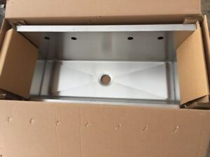 Elkay Ewma48204 Multiple Station Wash Sink Stainless Steel
