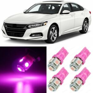16 X Ultra Pink Interior Led Lights Package For 2013 2020 Honda Accord tool
