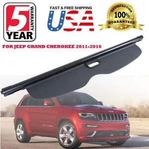 For 11 16 Jeep Grand Cherokee Trunk Cargo Luggage Security Shade Cover Oe Style