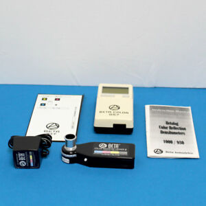 Beta Color 957 Densitometer Color Proofing Viewer Ii W manual And Calibration