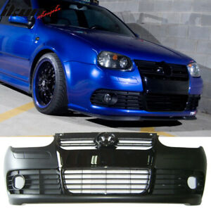 Fits 99 04 Vw Golf Mk4 R32 Style Pp Front Bumper Conversion