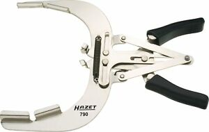 Hazet 790 1a 240 Mm Piston Ring Pliers Bright Nickel plated