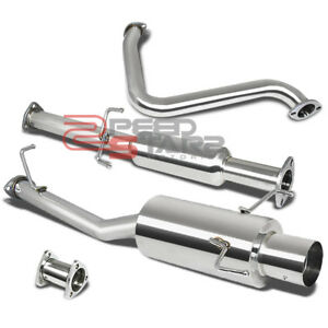 For 97 01 All Honda Prelude Base Type Sh Catback Exhaust System