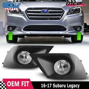 For Subaru Legacy 2015 2016 Driving Clear Fog Lights Lamps