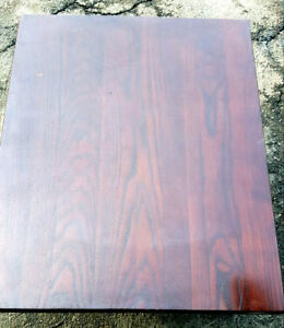 13 1 Thick Wood Table tops Textured Grain Rustic Restaurant Dining Distressed