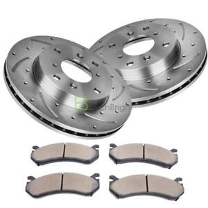 2pcs Brake Rotors And 4pcs Ceramic Pads For Honda Accord Coupe 1898 2002