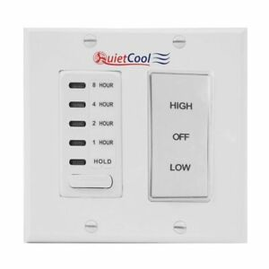 Quietcool Timer Control Kit For 2 Speed Cool Whole House Fan Models It kit 2
