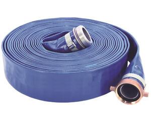 Abbott Rubber 1148 2000 50npsh Lay flat Discharge Hose Assembly Pvc 2 X 50