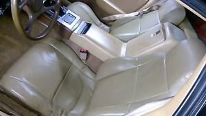 Pontiac Fiero Tan Leather Seat Set Left And Right