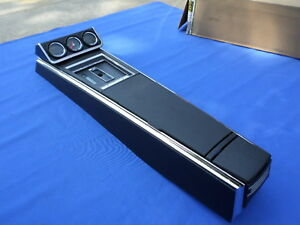 New 1967 Camaro Firebird Th350 Th400 Console Gauges Gm Licensed Assembled