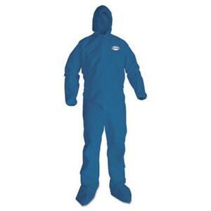 Kimberly clark 58523 A20 Breathable Particle Protection Coveralls Large Blue