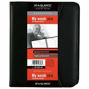 At a glance 70 545 05 Executive Weekly monthly Appointment Book 6 5 8 7054505