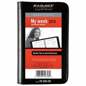 At a glance 70 020 05 Executive Weekly monthly Appointment Book 3 1 4 7002005