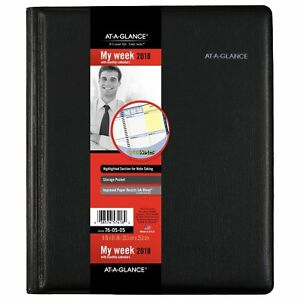At a glance 76 05 05 Quicknotes Weekly monthly Appointment Book 8 X 9 760505