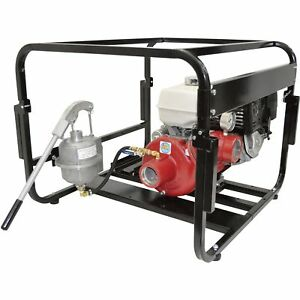 Ipt Pumps High pressure Engine driven Fire Pump 390cc Honda Gx390 Engine