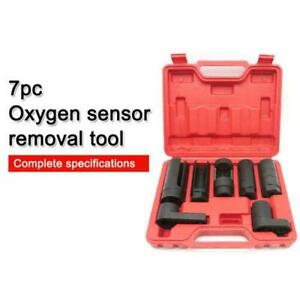 7pcs O2 Oxygen Sensor Oil Pressure Sending Unit Wrench Master Tool Set