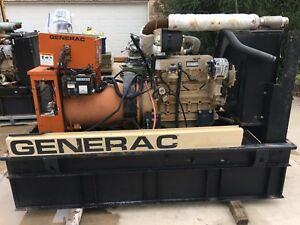 Generac Power Systems 40 Kw 50 Kva Generator Diesel 120 240 3 Phase Class H