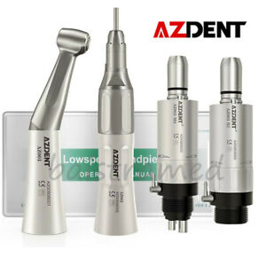 Nsk Style Dental Low Speed Straight Air Motor Contra Angle Handpiece 2 4 Hole
