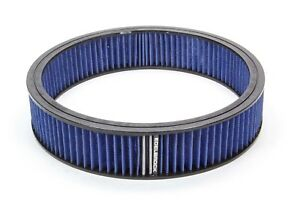 Edelbrock 43667 Air Filter Element Blue