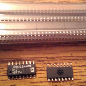 Lot Of 120 Analog Devices Adm232aarn Free Shipping