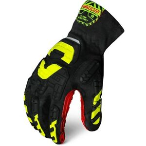 New Large Ironclad Vibram Flame Resistant Gloves Vib fres 04 l Size Large