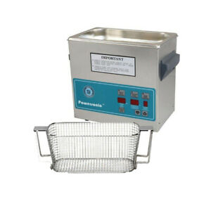 Crest P230d 132 Ultrasonic Cleaner W Power Control mesh Basket