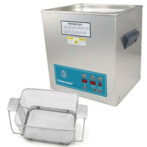 Crest P1100d 45 Ultrasonic Cleaner W Power Control perf Basket