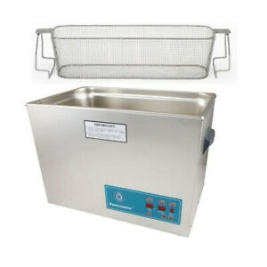Crest P2600d 45 Ultrasonic Cleaner W Power Control perf Basket