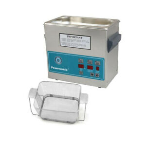 Crest P230d 132 Ultrasonic Cleaner W Power Control perf Basket
