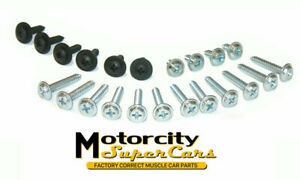 69 70 71 72 A Body Chevelle Gto Judge 442 Gs Bucket Seat Trim Hardware Kit Set